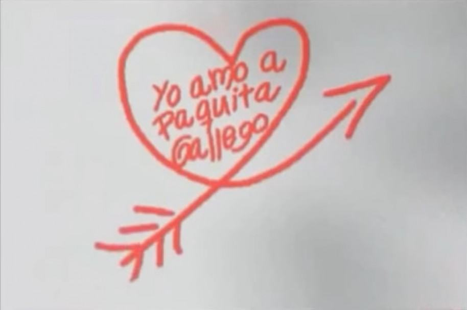 'Yo amo a Paquita Gallego'
