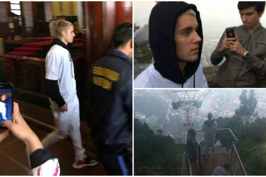 Justin Bieber en Monserrate