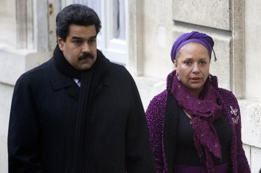 Piedad Córdoba y Nicolás Maduro