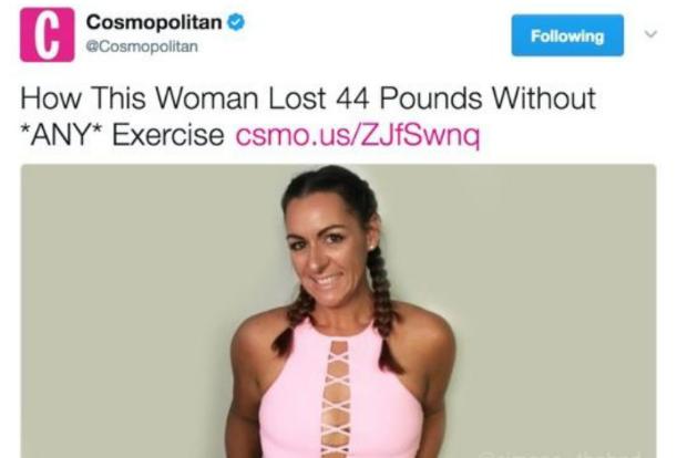 Cosmopolitan convierte cáncer en dieta
