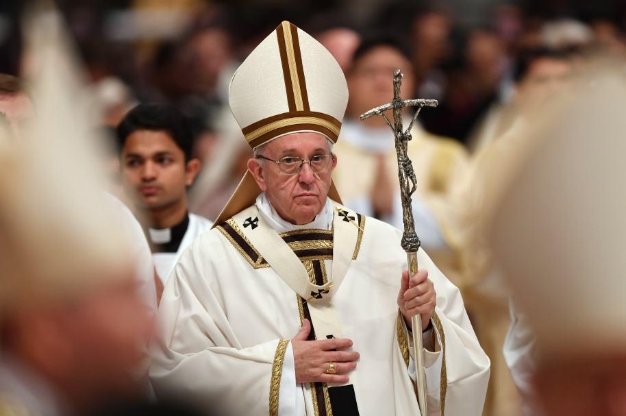 Papa Francisco, en El Vaticano