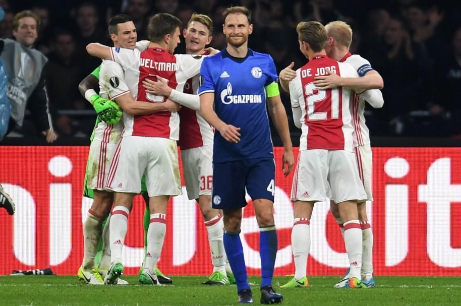 Ajax 2-0 Schalke