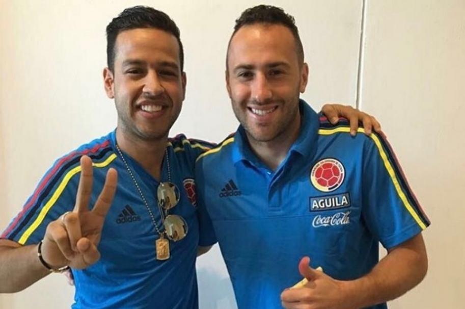 Martin Elías y David Ospina Instagram