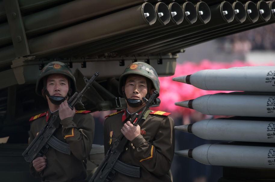 Parada militar en Corea del Norte