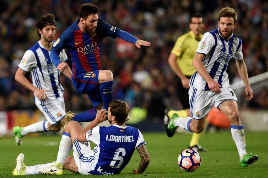 Barcelona 3-2 Real Sociedad