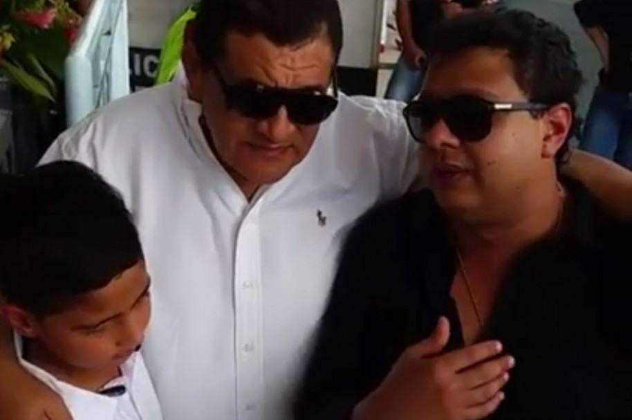 Rafael Santos, 'Poncho' Zuleta y Martín Elías Jr.