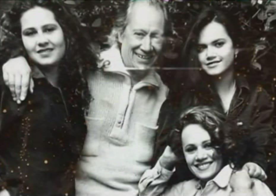 Familia de 'Pepe' Sánchez y Jennifer Steffens.