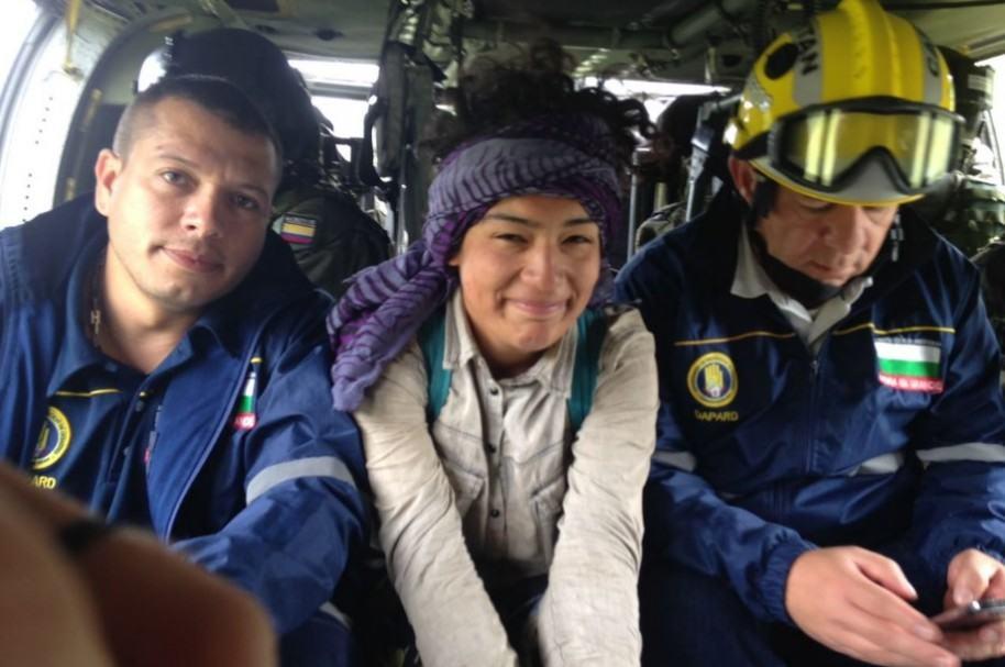 Rescate de Nicole Ríos