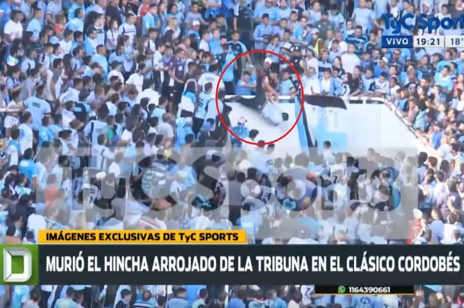 Golpiza a hincha de Belgrano