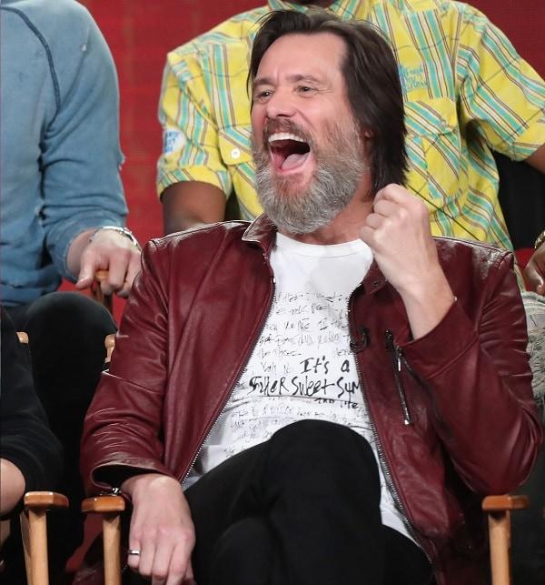 Jim Carrey, actor.
