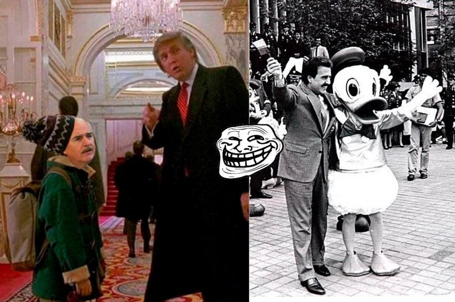 Memes Trump y Pastrana