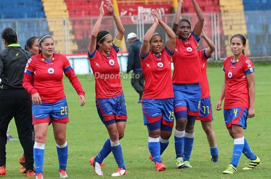 Jugadoras Deportivo Pasto Femenino