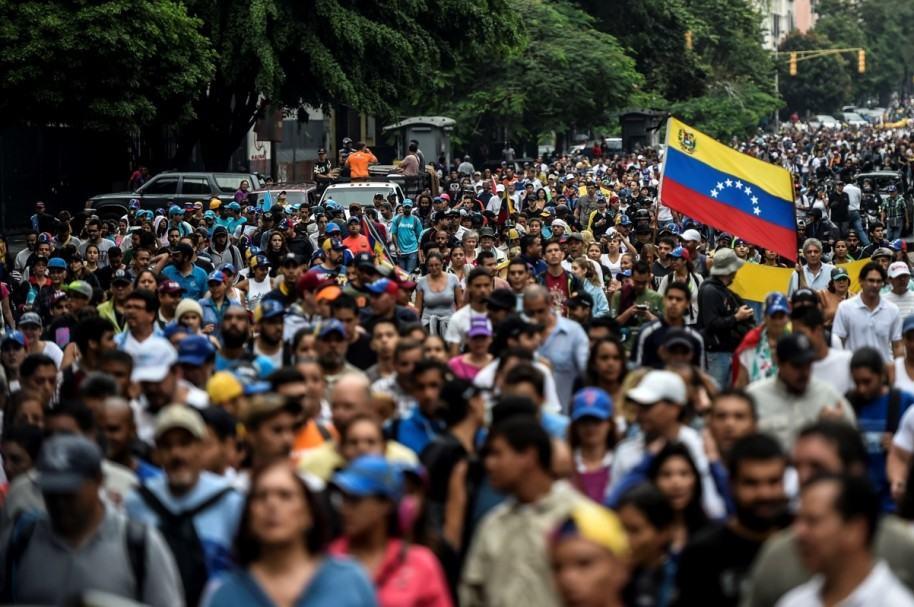 Marchas en Venezuela