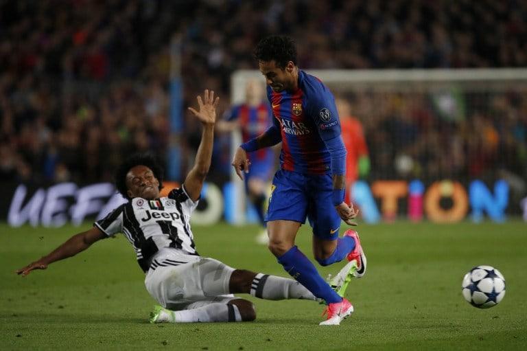 Cuadrado y Neymar