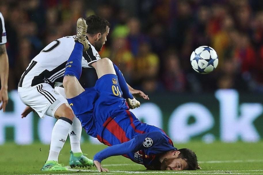 Caída de Messi