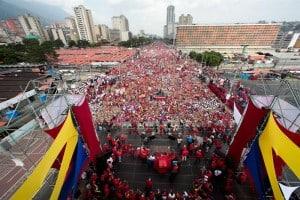 Marcha chavistas