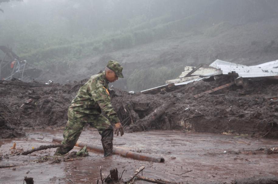 Emergencia en Manizales, Caldas