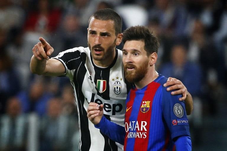 Leonardo Bonucci y Lionel Messi. Pulzo.com