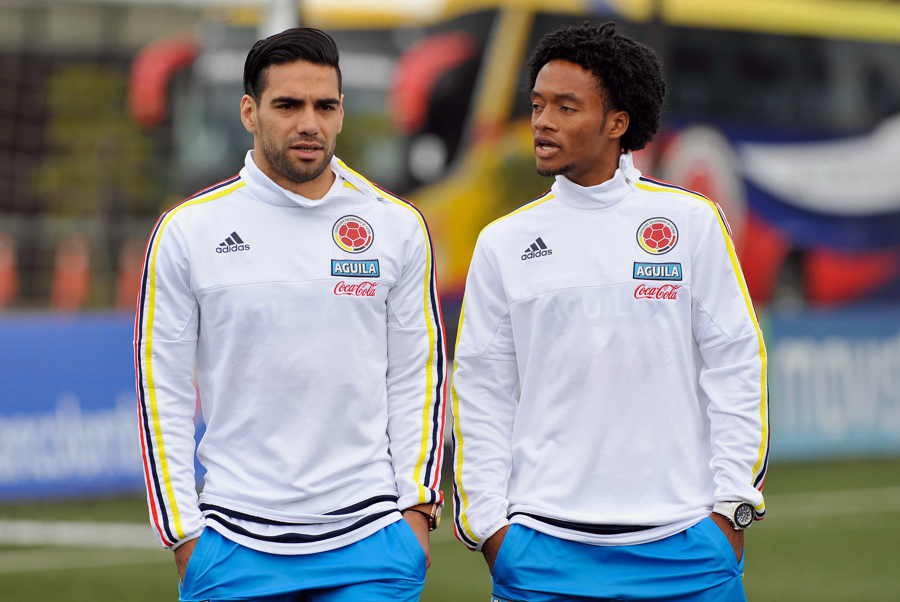 De compañeros en Colombia a rivales en Europa