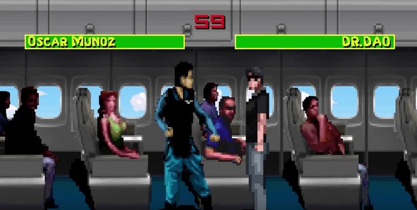 Parodia animada de agresión a pasajero de United Airlines. Pulzo.com
