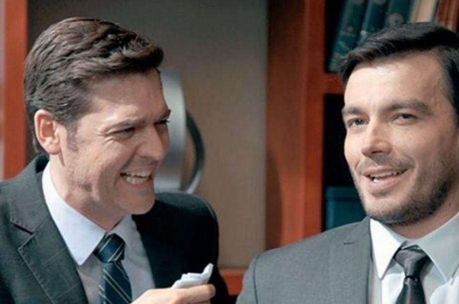 Rodrigo Candamil y Luciano D'Alessandro, actores de 'La ley del corazón'.