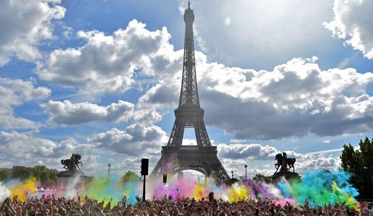 Color Run 2017 en París, Francia. Pulzo.com
