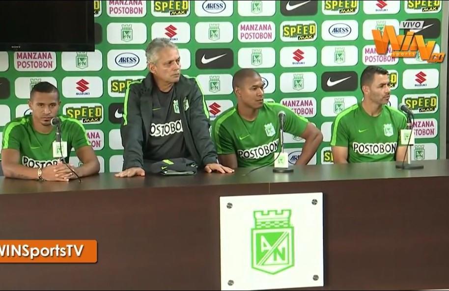 Macnelly Torres, Reinaldo Rueda, Alexis Henríquez y Francisco Nájera
