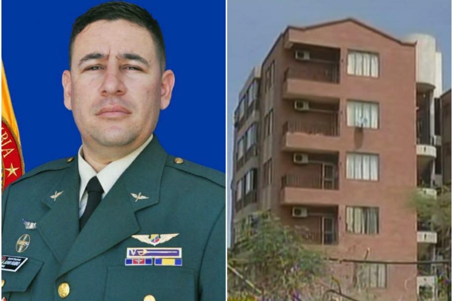Juan Camilo Rubio Reina, sargento viceprimero de aviación.