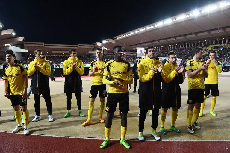 Juugadores Borussia Dortmund