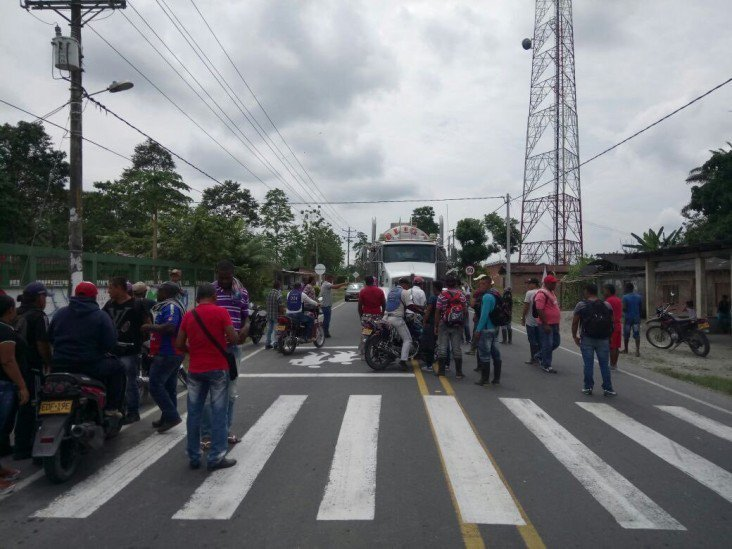 Protestas en Tumaco