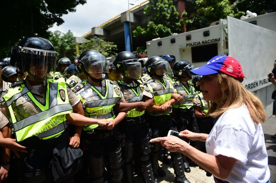 Marchas opositoras