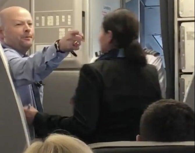 Incidente en vuelo