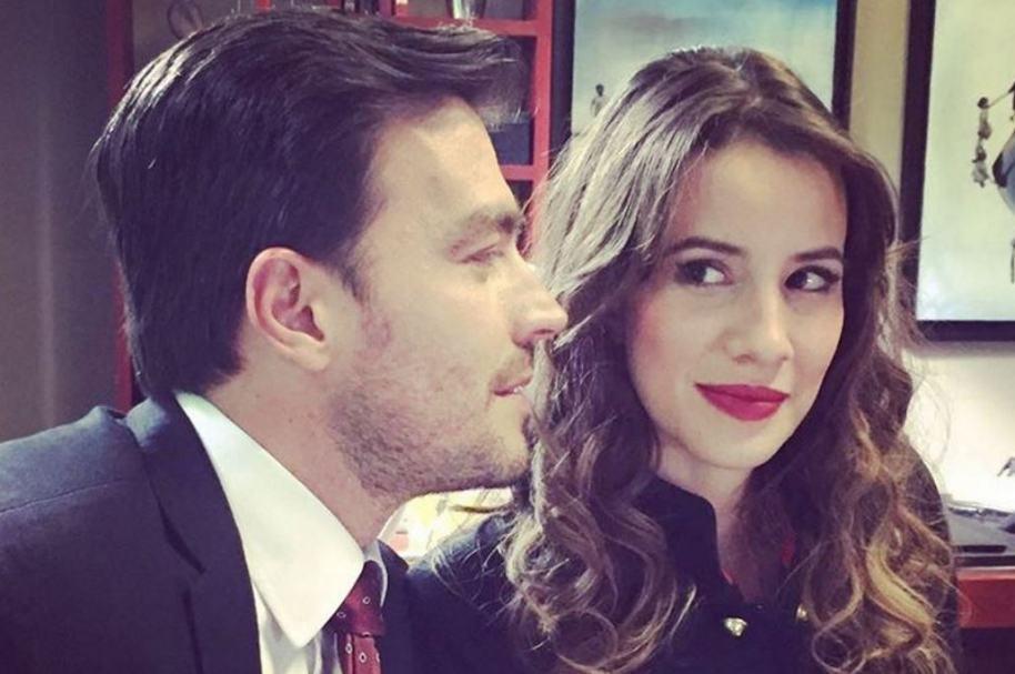 Luciano D'Alessandro y Laura Londoño, protagonistas de 'La ley del corazón'.
