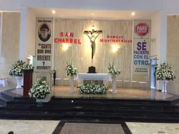Altar iglesia San Charbel