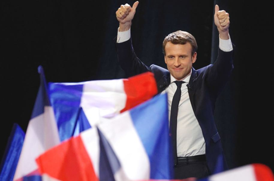 Macron Getty
