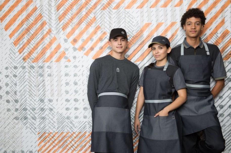 Nuevos uniformes McDonald's