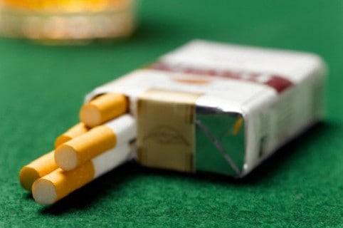 Cajetilla de cigarrillos