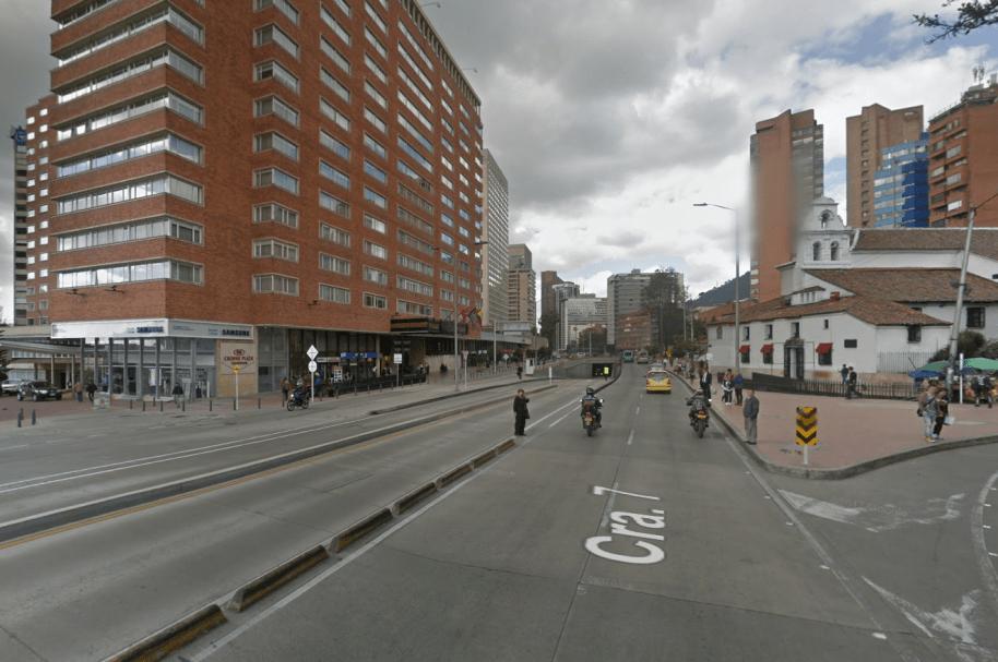 Carrera Séptima, Bogotá