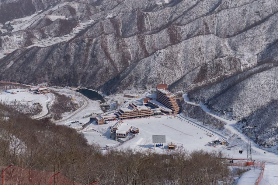 El Masikryong ski resort, en Corea