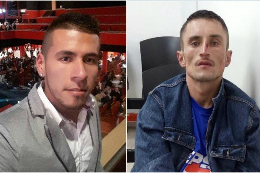 Leonardo Linchtz, funcionario de Transmilenio y William Monroy, confeso asesino