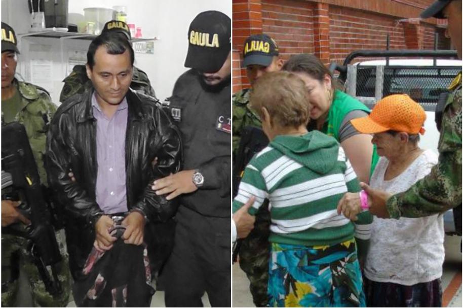 Secuestro en Santander
