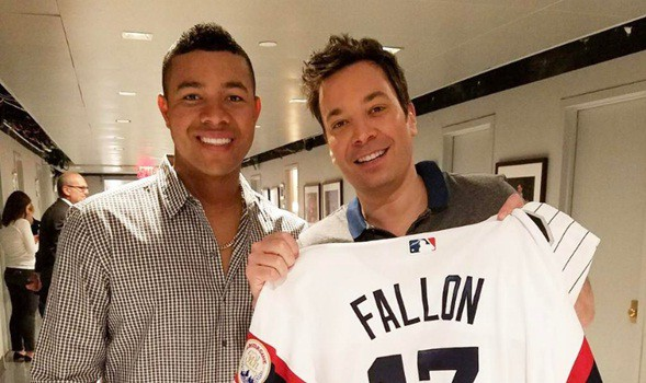 Quintana y Jimmy Fallon