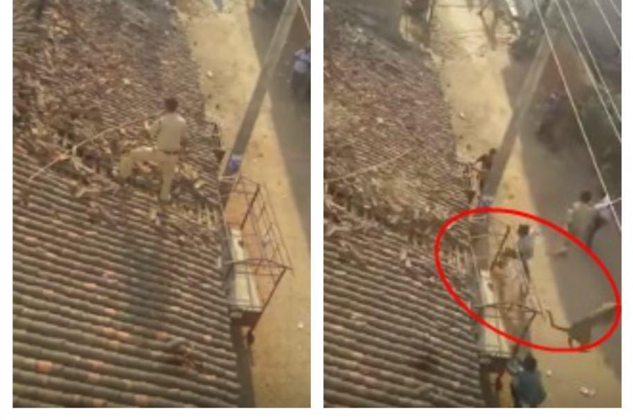 Hombre huye de leopardo. Pulzo.com