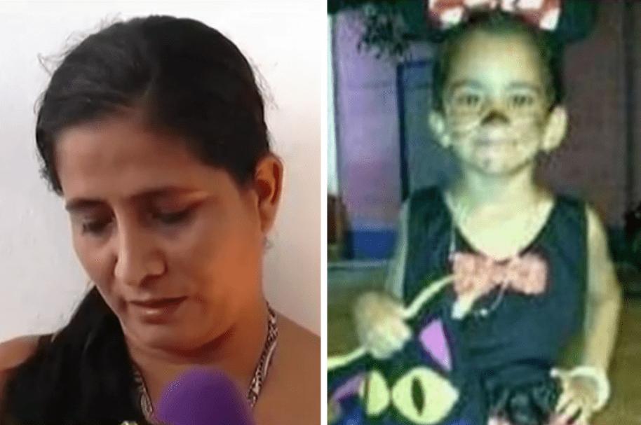 Ruth Salazar, mamá de Sara Yolima, niña abusada y asesinada