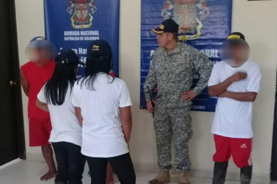 Las menores de edad fueron valoradas en Pizarro, Chocó