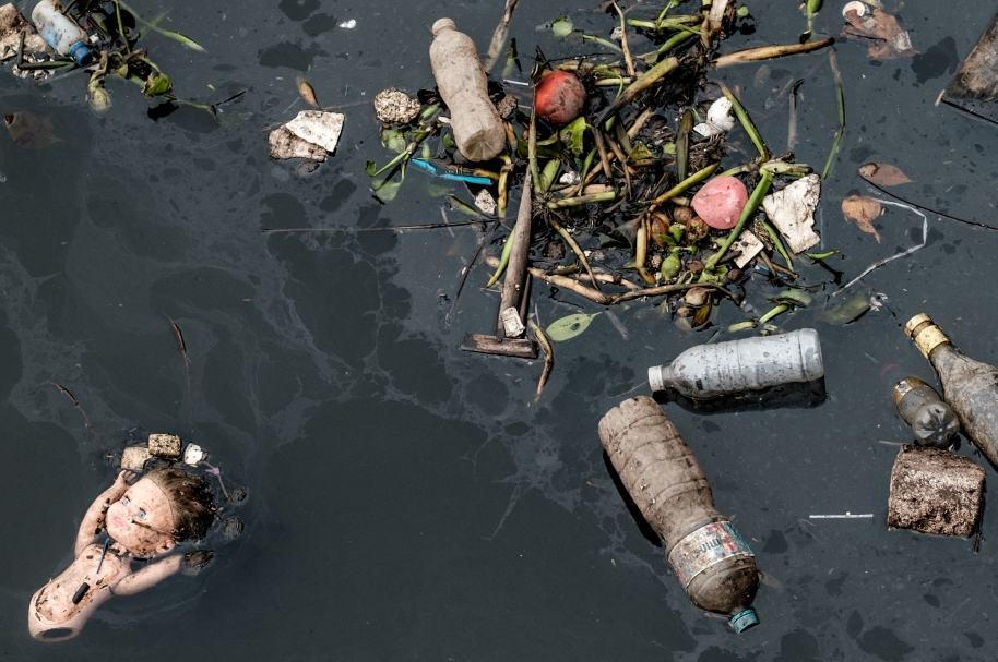 Mar contaminado