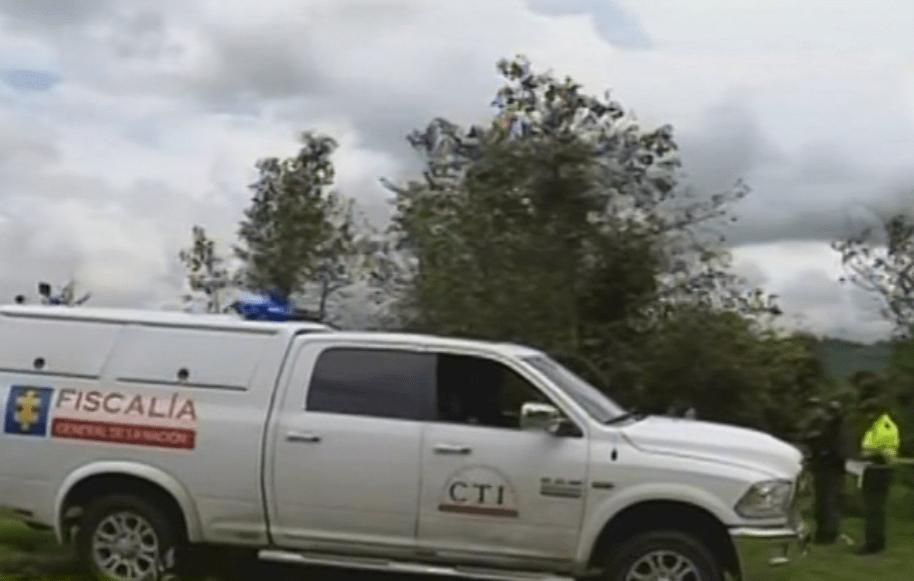 El CTI de la Fiscalía hizo la inspección al cadáver de la mujer hallada en Suba