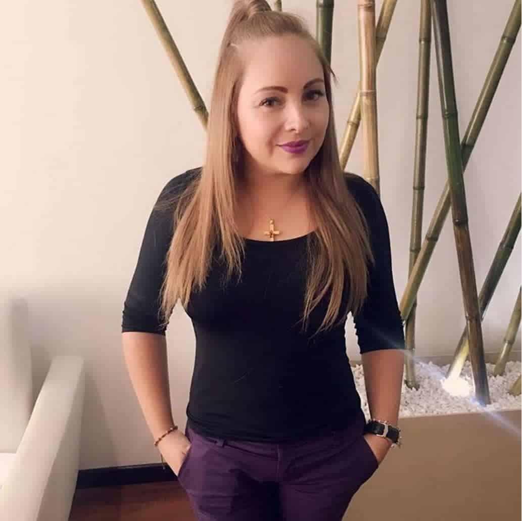Ana Victoria Beltrán, actriz recordada por su papel de Daniela Franco en 'Padres e hijos'.