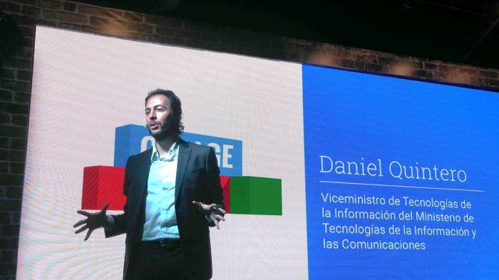 Daniel Quintero, viceministro TIC