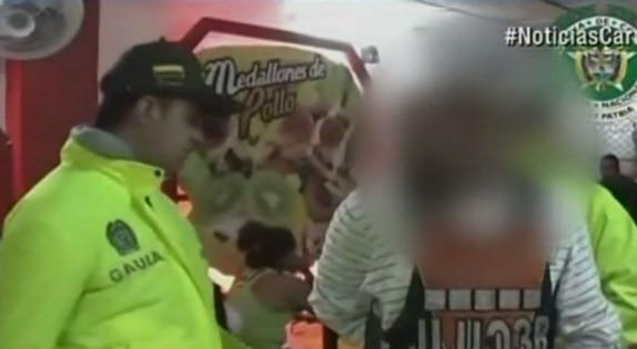 Captura de joven que extorsionaba a su familia en Caldas. Pulzo.com